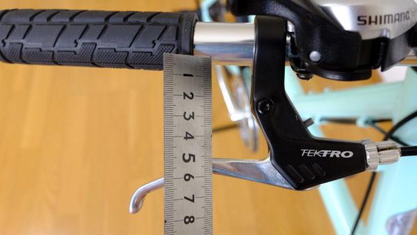 自転車の調整